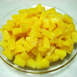 China Factory Price Premium China Canned Pineapple Tidbits in Light Syrup BRIX:14-17% on sale