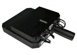 China High Power Drone Signal Jammer Block 2.4G 5.8G GPS L1 L2 L5 4 Antennas 24 Watt on sale
