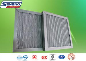 quality pre efficiency aluminum frame hvac air filters with aluminum mesh washable air filter for sale - Hvac Air Filters