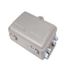 China 32C IP65 Waterproof  Anti-UV ABS Wall Mounted Fiber Optic Distribution Box For Outdoor on sale