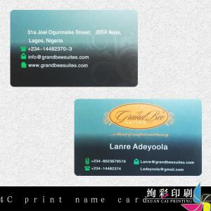 China Matte Transparent Printed Plastic Business Cards With Magnetic Stripe on sale