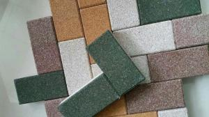 Quality Multi Color Permeable Paving Materials Eco - Friendly Wear Resistant Surface for sale