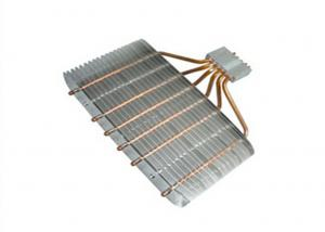 China Anodized 6 pcs Copper Pipe Extrusion Heat Sink For Home Appliances on sale