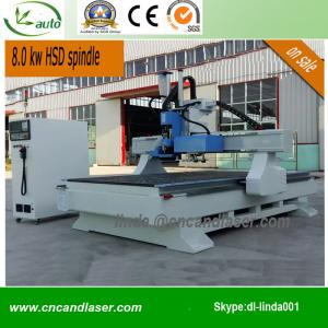 China Wood Door Design CNC Router Machine Auto Tool Change on sale