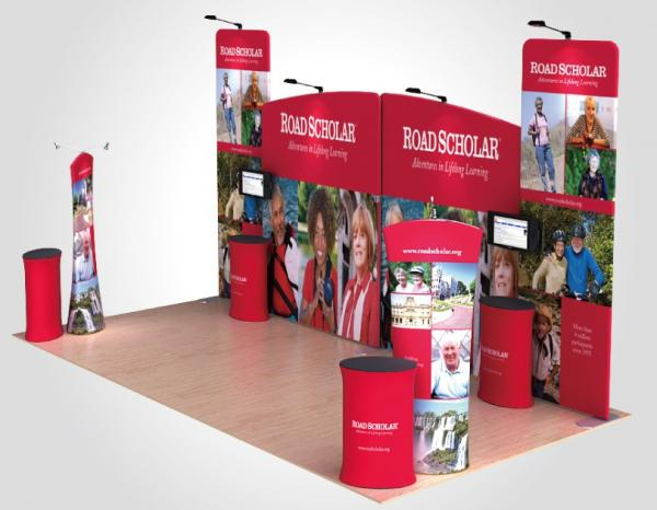 Fabric Exhibition Stand Game : High quality tension fabric exhibition equipment with competitive