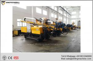 China Hydraulic Drilling Rig / Crawler Mounted Drill Rig Hole Depth 130m on sale