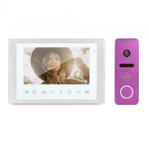 China Residential intercom doorbell camera entry phone system home monitoring door bell video video door phone on sale
