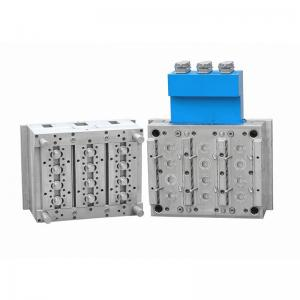 China 12 Cavities Hot Runner Injection Mould For Plastic TE Cap / Multi Cavities Mould on sale