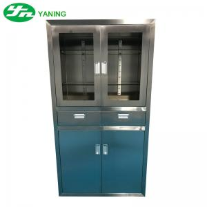 China Anti Bacterial Stainless Steel Medical Cabinet Furniture For Surgical Instruments on sale