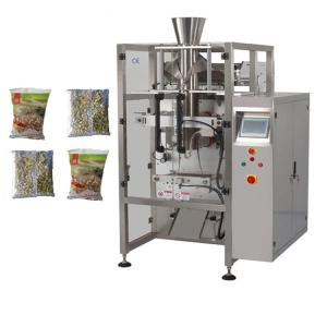 China Filling machine Gusseted potato chips packaging machine price,automatic filling machine small hardware nut packaging mac on sale