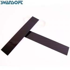 China 254nm UG5 optical color Black Absorptive Ultraviolet Glass for ultraviolet light filter on sale