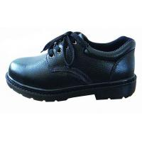 Industrial Work Shoes Anti Static / Non Slip Work Shoes Black With Non Woven Fabrics Lining