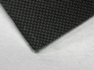 China Professional 3k Weave Carbon Fiber Plate , 1mm carbon fiber sheet on sale