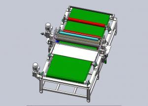 China Omron PLC 1200mm Solar Glass Coating Machine For AR Coating on sale