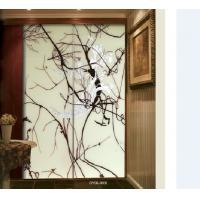 Flat Decorative Custom Interior Sliding Glass Doors For Hotel , 1600×2400mm