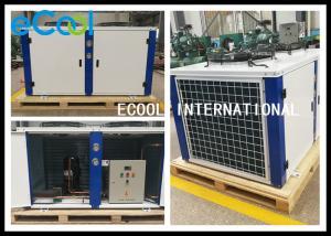 China OEM 6hp Freezer Condensing Unit With Semi Hermetic Piston Compressor on sale