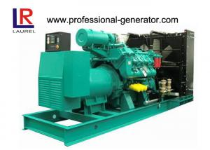 China 800kVA Open Diesel Generator with 8 Cylinders V type Brushless Self - exciter AVR on sale