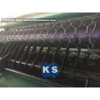 Custom OEM Gabion Box Machine / Galvanized Iron Hexagonal Wire Mesh Machine