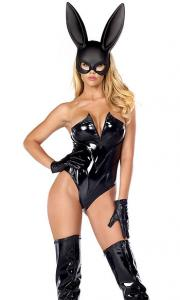China Breathtaking Sexy Bunny Costume Wholesale with Size S to XXL Available on sale