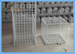 China Low Carbon Iron Wire Welded Wire Gabion Baskets Retaining Wall 1 X 1 X 1 Meters on sale