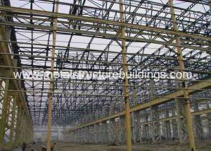 China Prefab Steel Workshop Metal Structure Buildings European Standard By Light Steel Frame on sale