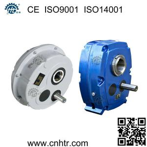 China HXG(TA) and HXGF(SMSR) shaft mounted speed reducer helical gearbox for conveyor belt on sale