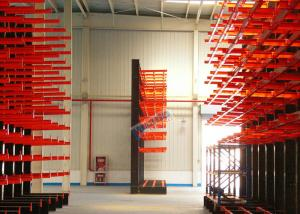 China 1200 Kg Load Capacity Cantilever Storage Racks Roll - Formed H Beam With 700mm Arm on sale