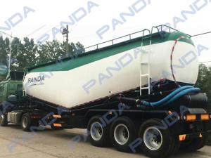China 2016 Top Ranking Bulk Cement Tank Semi Trailer /Cement Powder Tanker Transport For Sale on sale