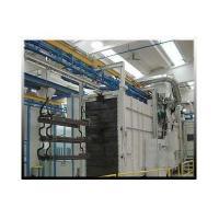China Spinner Hanger Shot Blasting Machines , Wheel Blasting Machine For Aluminium Cars Rims on sale
