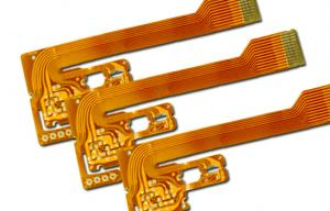 China 0.13 mm Flexible Circuit Board with Immersion Gold , flex pcb prototype on sale