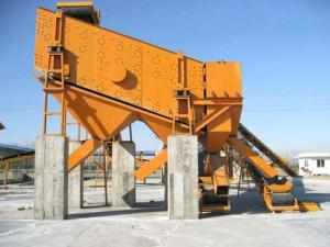 China Iron Ore Rock Cement Vibrating Screen Feeder Reliable Performance Long Service Life on sale