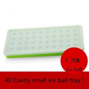 China Ball Refrigerator Silicone Ice Cube Molds Quick Release Dishwasher Safe on sale
