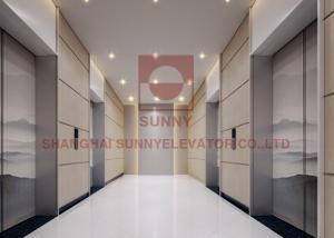 China Automatic Commercial Passenger Elevators Safe Operation 450kg-1600kg Load on sale