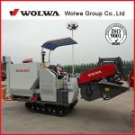 combine rice harvester W4SD-2.3D factory direct sale wheat paddy rice harvesting machine