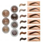 No Logo Eyebrows Makeup Products Waterproof Mineral Cream Eyebrow Gel MSDS Approval