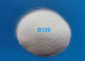 China Stainless Steel Surface Finish Ceramic Polishing Media B120 B60 2.3 G/Cm3 Bulk Density on sale
