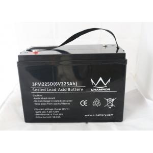 China Off Grid Solar Lead Acid Battery 6v 225ah Inverter SMF Batteries on sale