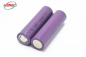 China Free Sample 1200mAh 3.7V  lithium Battery 18650 Cell Rechargeable Li Ion Battery on sale