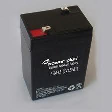 China best rechargeable batteries Lead acid used electric toys 3FM4.5(6V 4.5AH/20HR) on sale
