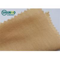 Soft Nomex Aramid Fiber Fabric Garments Accessories Fire Retardant 185gsm Weight