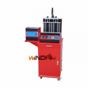 China 500W Fuel Injector Analyzer And Cleaner Machine With Six Injectors At Same Time on sale