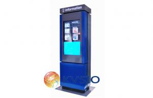 China Way Finding Touch Screen Kiosk with Industrial PC Internet Access on sale