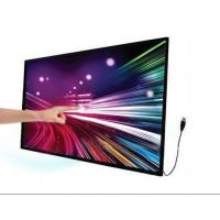 10 Fingers Points Multi Touch Display Screen Overlay Kit , Indoor Infrared Touch Screen Panel