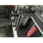 7color 320 two units(4+3) Label flexo fabric printer machine self-adhesive sticker/label to mould die cutter