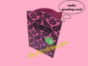 China Talking Greeting Card on sale