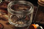 PersonalisedEmpty Clear Glass Candle Jars With Lids , ASTM Test