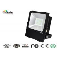 Parking Lot Grey LED Flood Lighting 110Lm / W , 50W Outdoor LED Flood Lights