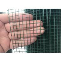 "1/4"" Inch Welded Wire Mesh , Hot Dipped Galvanised Steel Mesh Panels Plain Weave"