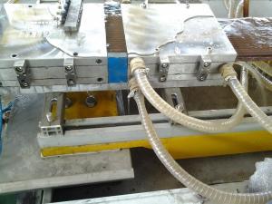 China Plastic PVC WPC Profile Extrusion Line With Bi Metallic Screw And Barrel on sale