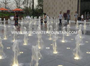 ... Floor Water Fountains Color Changing Floor Water Fountains Boy And Water  ...